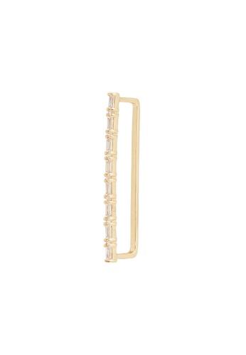 Wanderlust + Co gold Baguette Bar Gold Ear Cuff 22FC4AC486241DGS_1