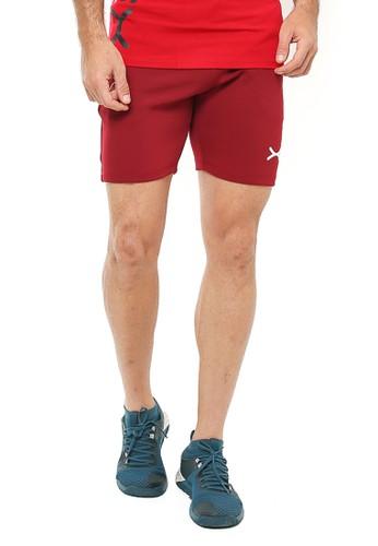 Flexzone red FLEXZONE Sports Short Pants Marathon Series Maroon 47565AA5B72930GS_1