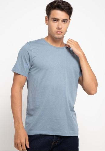 Manzone blue BESTBUY - TOMLIN 4-BLUE T-shirt 544ECAAB317B64GS_1