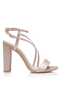 Olivia Asymmetric Occasion Heel Sandals