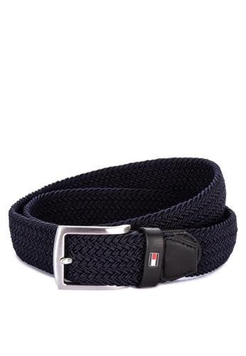 e8e500e35a483 Shop Tommy Hilfiger Denton Elastic Braided Belt With Logo Emblem Online on  ZALORA Philippines