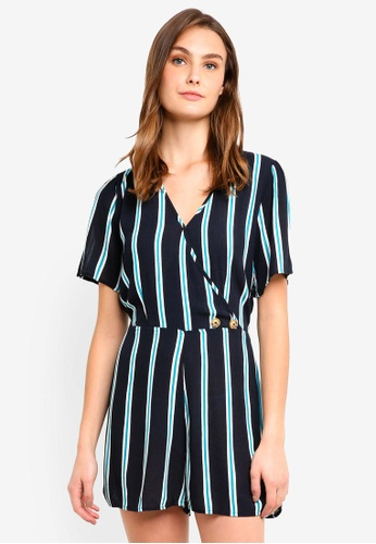 7ec4e13e79 Buy Cotton On Woven Angie Cap Sleeve Playsuit Online on ZALORA Singapore