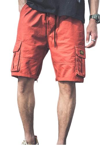 Sunnydaysweety red Causal Wide Leg Drawstring Shorts A21032315RD 7EA43AA379D0B1GS_1