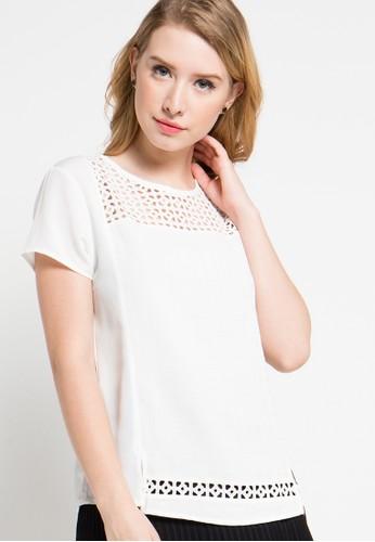 X8 white Anaya Blouse X8323AA45YPQID_1