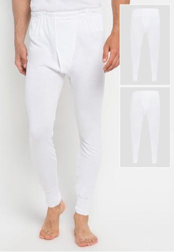 Gunze Innerwear white SV31022 Longjohn Bottom (2pcs) 51E71AA1188F98GS_1