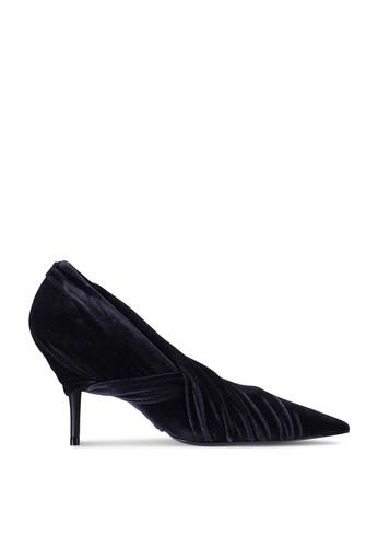 Balenciaga black Knife Heels (zt) 78F8BSH7C0B79BGS_1