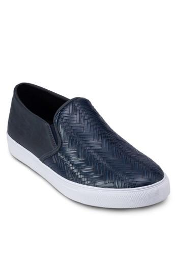 編織壓花懶zalora taiwan 時尚購物網人休閒鞋, 鞋, 休閒鞋