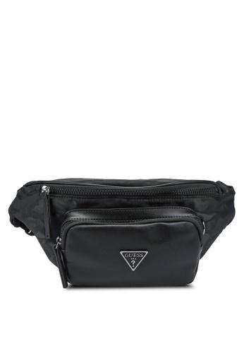 Guess black Dyson Bum Bag 5FC75AC0E29F6BGS_1