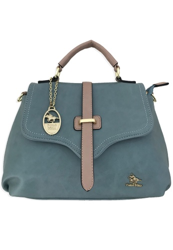 Polo Hill blue Polo Hill Day Bag Blue 65E91AC4FFE089GS_1