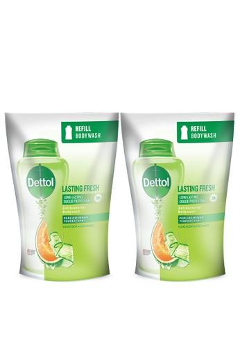 DETTOL Dettol Sabun Mandi Cair Lasting Fresh 410g x 2pcs Refill [PAKET HEMAT] E1848ESBB90994GS_1