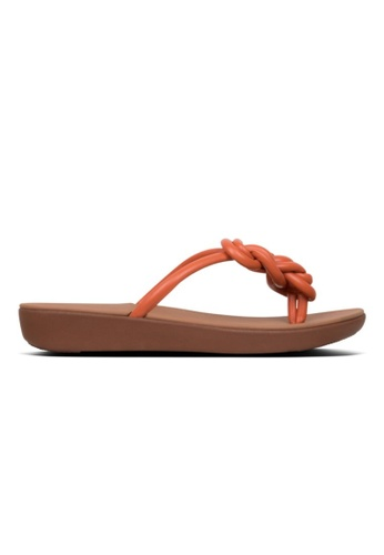 FitFlop orange Fitflop Tiera Amber Ash E2C7ESHCD32662GS_1