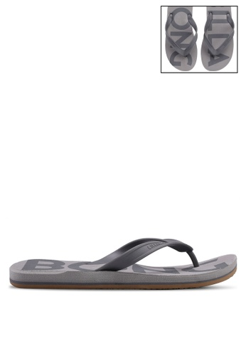 Billabong grey All Day Print Flip Flops 0577ASHF1C977FGS_1