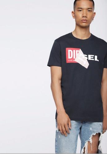 Diesel blue T-Diego-Qa 218_1 Tshirt F6334AAEE85231GS_1