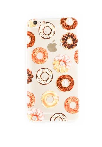 Fancy Cellphone Cases multi Donuts Soft Transparent Case for iPhone 6plus/6splus FA644AC52XXFPH_1