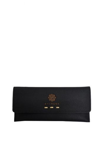 KCross black HHL WL006 Wallet KC174AC0K35DPH_1