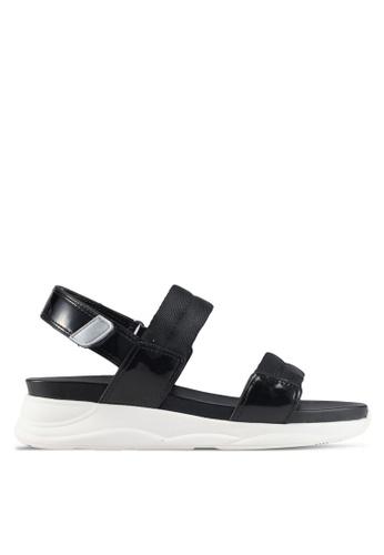 ALDO black Eloima Flat Sandals 0D7E1SH34F4E15GS_1