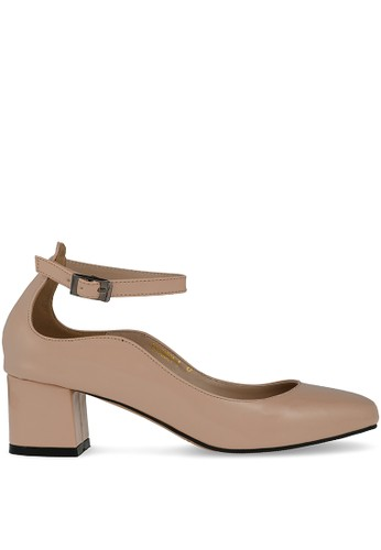 MAYONETTE brown Mayonette Flora Heels - Cream 55C71SHF69528EGS_1