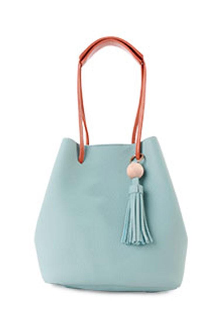 Preppy Allure Tassel Bag