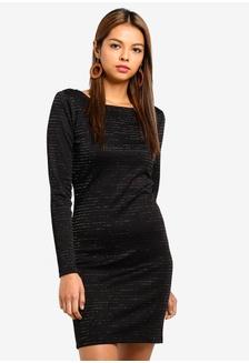 Buy Cotton On Henry Long Sleeve Button Through Mini Dress  cc11ba2ba