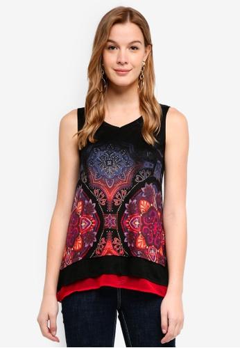 Desigual black Verona T-Shirt 0F7E0AA6D502B1GS_1