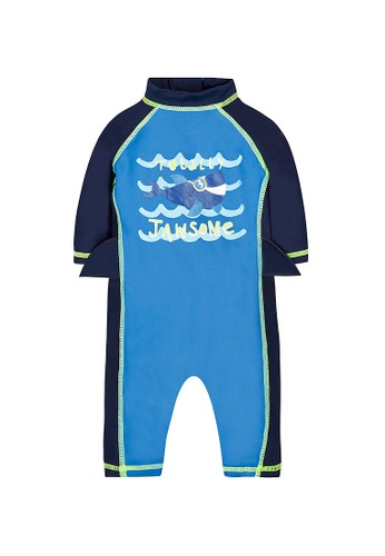 Mothercare blue 'Jawsome' Sunsafe 6FFEDKA00072BEGS_1