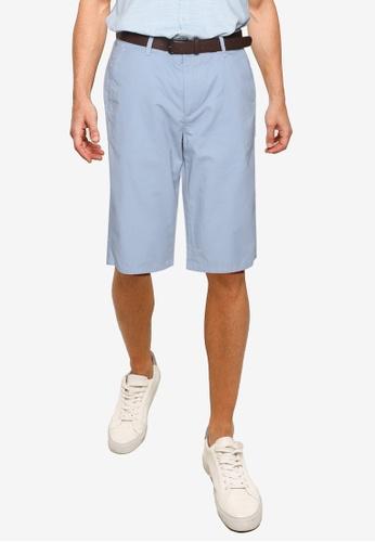 LC Waikiki blue Regular Fit Gabardine Bermuda Shorts DDD8CAA5A3A431GS_1