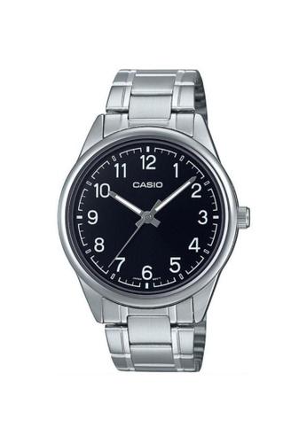 Casio silver CASIO GENERAL MTP-V005D-1B4UDF MEN'S WATCH 13D72AC270402CGS_1