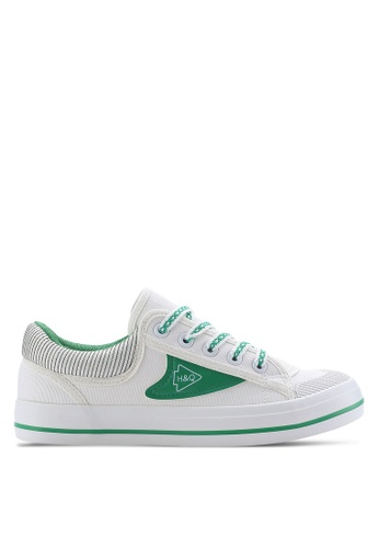 Twenty Eight Shoes white Fashion Canvas Sneakers TW281SH66ZXPMY_1