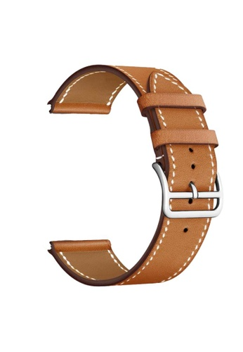 Kings Collection brown Brown Leather Apple Watch Band 42MM/44MM (KCWATCH1077) 2A35EACE66B2C5GS_1