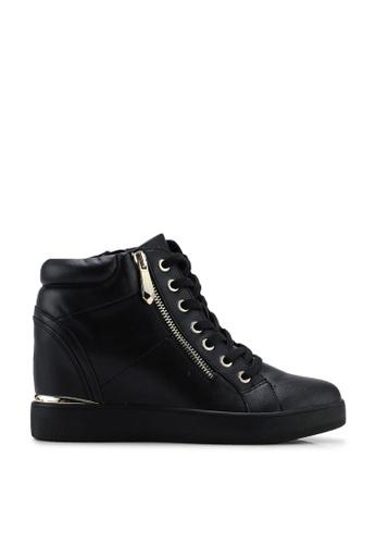 ALDO black Ailanna Hidden Heel Sneakers 8D4EASHB087BFBGS_1