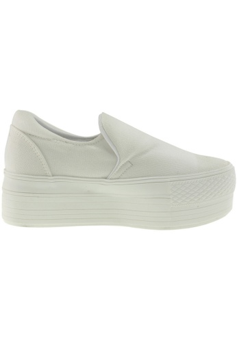 Maxstar white Maxstar Women's C50 Platform Canvas Skate Slip On Shoes US Women Size MA164SH99FMASG_1