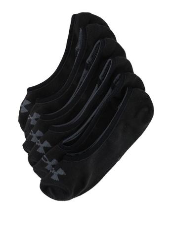 Under Armour black UA Essential Lolo Liner Training 3-Pack Socks 1CF1BACFB7E0B2GS_1