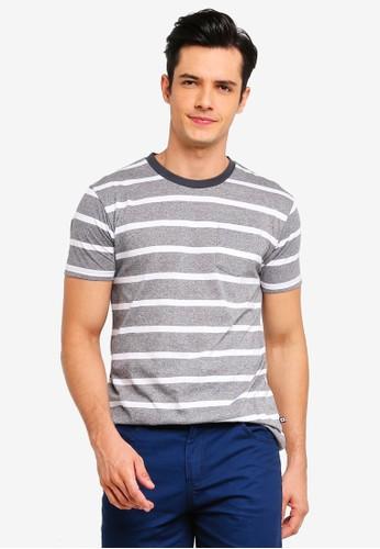 Penshoppe grey T-Shirt With Pocket 3136BAA0C703B8GS_1