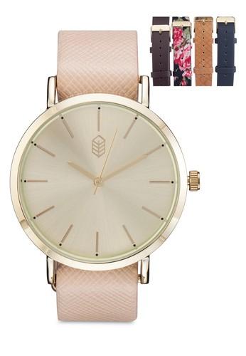 Gridia 經典圓框手錶, 錶esprit hong kong類, 女裝手錶