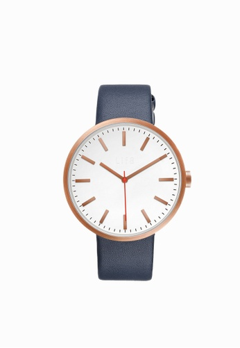 Life8 white and gold Casual Sapphire Pure Digital Watch (Dual Straps)-05252-White and Gold LI283AC0FNP0SG_1