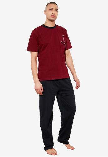 Trendyol red Men's 3-Packs Sleepwear Set 51C0CAAB85B86BGS_1