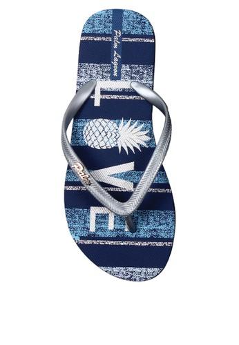 Palm Lagoon blue Sandals & Flip Flop Love Glitter Blue EE86FSHF9B283BGS_1