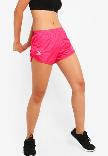 FBT pink Running Shorts Curve Cut D4C7BAA8C75A31GS_1