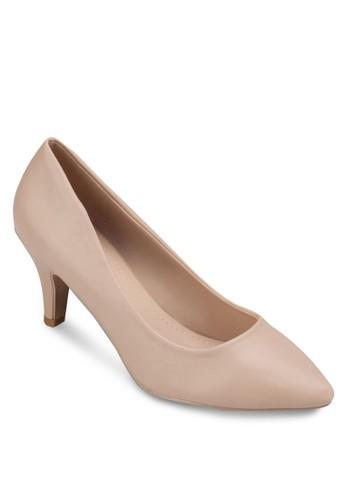 Lucy 尖頭中跟鞋, 女鞋, 厚底高esprit分店地址跟鞋