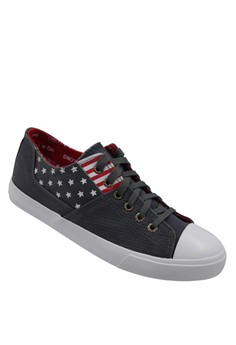 Low Cut High Quality Sneakers Men's Casual Shoes H81 (grey)