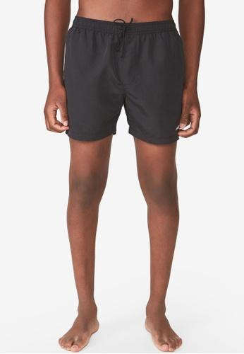 Cotton On 黑色 游泳短褲 0C9D8AAEE954AEGS_1
