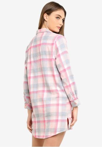 a1bd31843eba Buy Dorothy Perkins Pink Check Nightshirt Online
