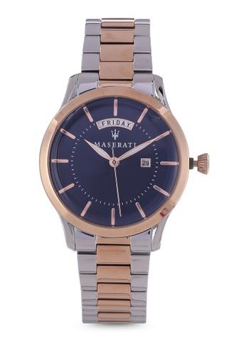 Maserati silver Tradizione 40mm Bracelet Watch MA410AC82HHHMY_1