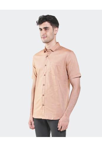 Manzone brown TORREN-TERRACOTTA Shirt 50B78AAC2991F8GS_1