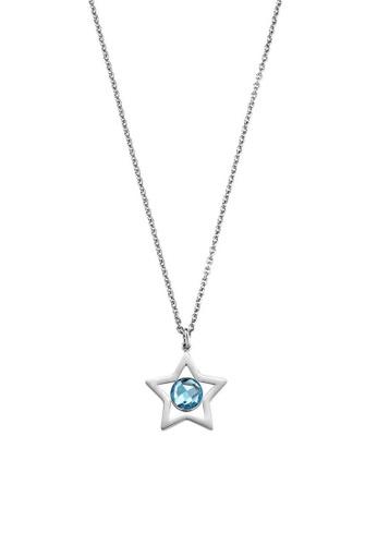 Morellato silver Cosmo Necklace SAKI02 Steel Crystals AD436AC4B50355GS_1