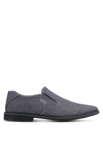 Knight grey Slip On Business Shoes KN875SH0RF99MY_1