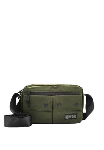 OPTIONS green Vince Messenger Bag 94BDDAC7D8B562GS_1