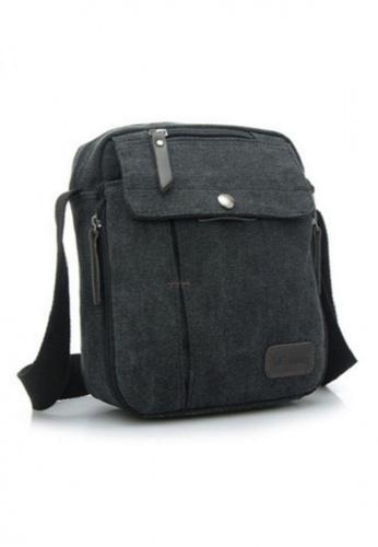 Lemon Cotton black Korean Traveller's Bag LE248AC89YZEPH_1