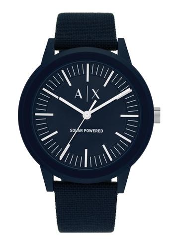 Armani Exchange blue Watch AX2734 B5FBAACF2EE075GS_1
