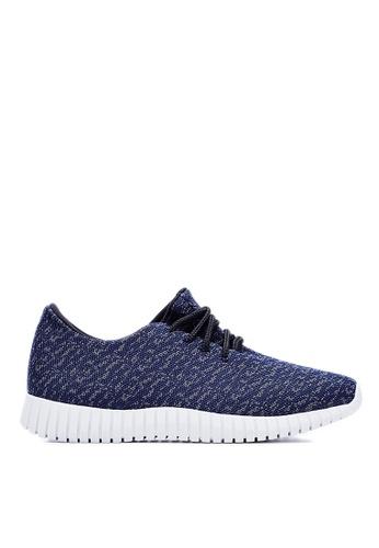 Life8 navy Weaving Cloth Spring Sport Shoes-09465-Navy LI283SH18JQVSG_1